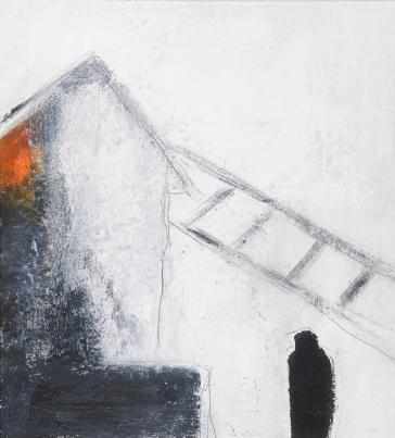 Sans Titre, 21 x 23 cm, techniques mixtes sur toile, 2015